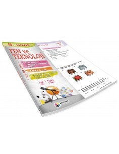 Dörtrenk Yayınları Ortaokul 8.Sınıf Fen ve Teknoloji Yaprak Test