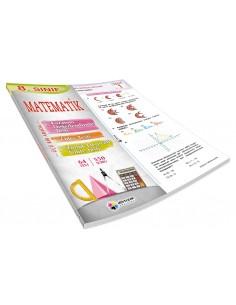 Dörtrenk Yayınları 8.Sınıf Matematik Renkli Yaprak Test