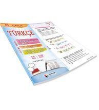 Dörtrenk Yayınları 6.Sınıf Türkçe Renkli Yaprak Test