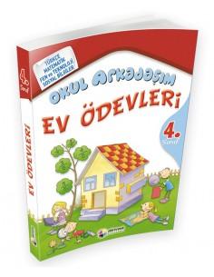 Dörtrenk Yayınları İlkokul 4.Sınıf Okul Arkadaşım Ev Ödevleri