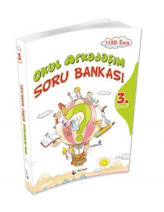 Dörtrenk Yayınları İlkokul 3.Sınıf Okul Arkadaşım Soru Bankası