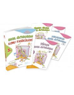 Dörtrenk Yayınları İlkokul 3.Sınıf Okul Arkadaşım Konu Fasikülleri