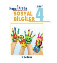Tudem Yayınları İlkokul 4.Sınıf Sosyal Bilgiler Hepsi 1 Arada