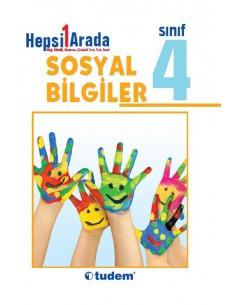 Tudem Yayınları 4.Sınıf Sosyal Bilgiler Hepsi 1 Arada