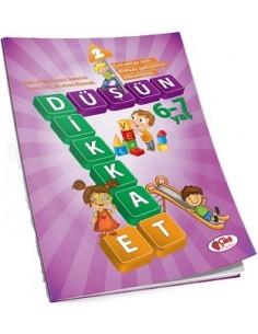 Çilek Kitaplar Düşün Dikkat Et-2(6-7 yaş)
