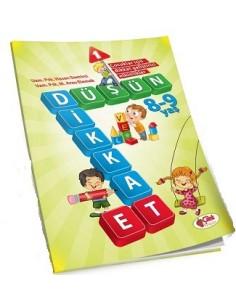 Çilek Kitaplar Düşün Dikkat Et-1(8-9 yaş)