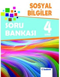 Tudem Yayınları İlkokul 4.Sınıf Sosyal Bilgiler Soru Bankası