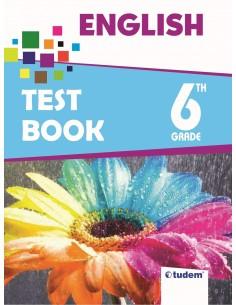 Tudem Yayınları 6.Sınıf English Test Book