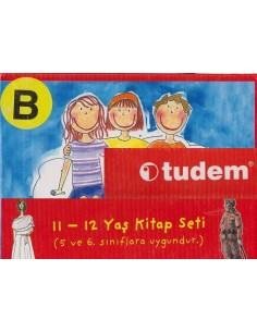 Tudem Yayınları İlkokul 5. ve 6. Sınıflar İçin Sarı Set-B Serisi Hikaye Seti