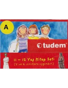 Tudem Yayınları İlkokul 5. ve 6. Sınıflar İçin Sarı Set-A Serisi Hikaye Seti