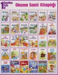 Limon Kitap İlkokul 1.Sınıflar İçin Okuma Saati Kitaplığı