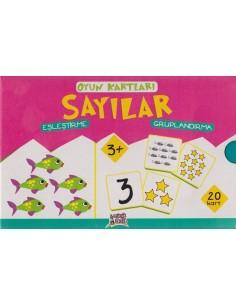 Erdem Yayınları Minik Ada Serisi Oyun Kartları Sayılar