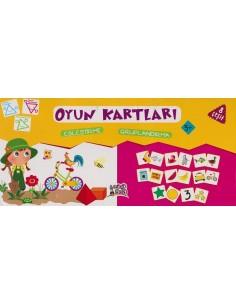 Erdem Yayınları Minik Ada Serisi Oyun Kartları
