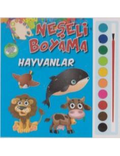 Parıltı Yayınları Okul Öncesi Neşeli Boyama(Hayvanlar)