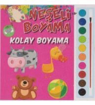Parıltı Yayınları Okul Öncesi Neşeli Boyama(Kolay Boyama)