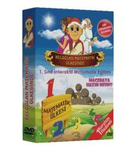 Edusoft Yayınları İlkokul 1.Sınıf Keloğlan Matematik Ülkesinde DVD Seti