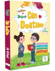 5 Renk Yayınları İlkokul 1.Sınıf Değerli Can Dostum Hikaye Seti(8 kitap)