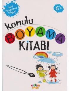 Erdem Yayınları Konulu Boyama Kitabı(+6 yaş)