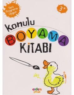 Erdem Yayınları Konulu Boyama Kitabı(+3 yaş)