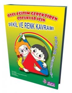 Duru Yayınları Özel Eğitim Gerektiren Çocuklar İçin Şekil ve Renk Kavramı