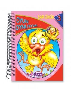 Duru Yayınlar Okul Öncesi Sarı Cikcik Hikaye Seti(10 kitap)