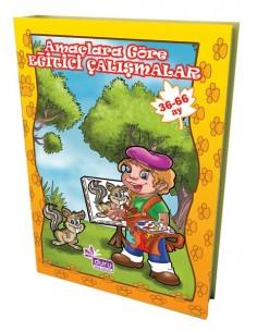 Duru Yayınlar Okul Öncesi Amaçlara Göre Eğitici Çalışmalar(3-6 yaş)