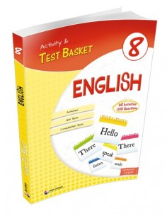 Dörtrenk Yayınları Ortaokul 8.Sınıf English Activity and Test Basket