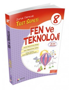 Dörtrenk Yayınları Ortaokul 8.Sınıf Fen ve Teknoloji Test Sepeti
