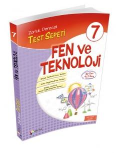 Dörtrenk Yayınları 7.Sınıf Fen ve Teknoloji Test Sepeti