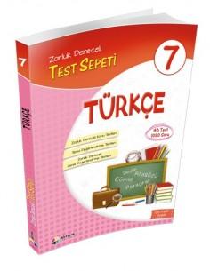 Dörtrenk Yayınları Ortaokul 7.Sınıf Türkçe Test Sepeti