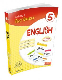 Dörtrenk Yayınları Ortaokul 5.Sınıf English Activity and Test Basket