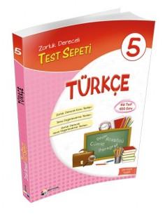 Dörtrenk Yayınları 5.Sınıf Türkçe Test Sepeti