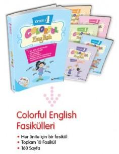 Dörtrenk Yayınları İlkokul 4.Sınıf Colorful English Grade 4