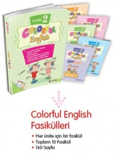 Dörtrenk Yayınları İlkokul 2.Sınıf Colorful English Grade 2