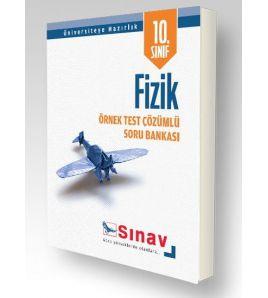 Sınav Yayınları Lise 10.Sınıf Fizik Örnek Test Çözümlü Soru Bankası