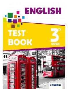 Tudem Yayınları 3.Sınıf English Test Book
