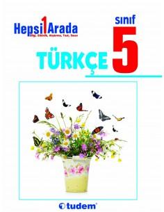 Tudem Yayınları 5.Sınıf Türkçe Hepsi 1 Arada