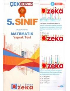 İşleyen Zeka Yayınları Ortaokul 5. Sınıf Matematik Yaprak Test