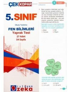 İşleyen Zeka Yayınları Ortaokul 5. Sınıf Fen Bilimleri Yaprak Test