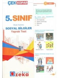 İşleyen Zeka Yayınları Ortaokul 5. Sınıf Sosyal Bilgiler Yaprak Test