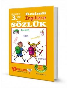 Dahi Adam Yayınları İlkokul 3.Sınıf İngilizce Resimli Sözlük
