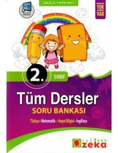 İşleyen Zeka Yayınları İlkokul 2. Sınıf Tüm Dersler Soru Bankası