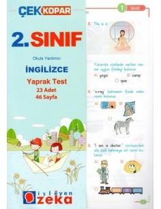 İşleyen Zeka Yayınları İlkokul 2. Sınıf İngilizce Yaprak Test