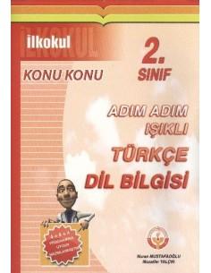 Işıklı Yayınları İlkokul 2.Sınıf Adım Adım Türkçe Dil Bilgisi