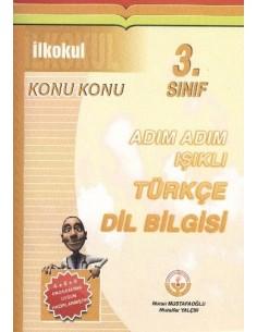 Işıklı Yayınları İlkokul 3.Sınıf Adım Adım Türkçe Dil Bilgisi