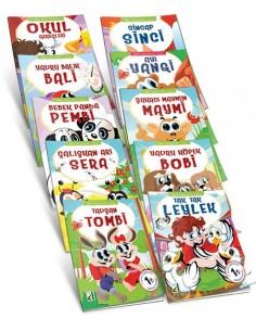 Damla Yayınları İlkokul 1.Sınıf Akıllı Hayvanlar Serisi