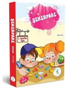 5 Renk Yayınları İlkokul 1.Sınıf Şekerpare Dizisi Hikaye Seti (10 Kitap)