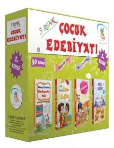 5 Renk Yayınları İlkokul 1.Sınıf Çocuk Edebiyatı (50 Kitap)