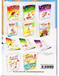 Dörtrenk Yayınları İlkokul 1.Sınıf Renkli Yarıyıl Tatil Kitabı