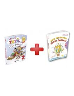Dörtrenk Yayınları 2.Sınıf Renkli Yarıyıl Tatil Kitabı (Hediyeli)
